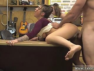 Big ass babe gets drilled..