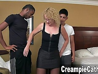 Huge Creampie From Two Young..