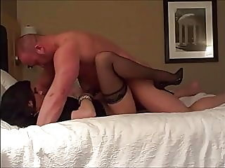 Business lady fucked on real..