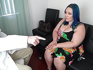 Beautiful Blue Haired BBW..