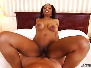 All natural big ass Black GILF