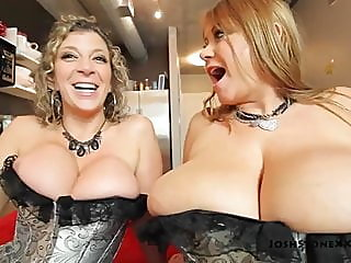 Samantha 38G and Sara Jay -..