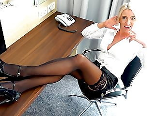The office whore !Trainee..