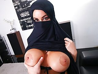 Busty Muslim MILF Cheats On..