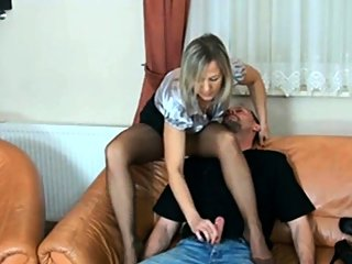 Sultry Blonde Milf In..