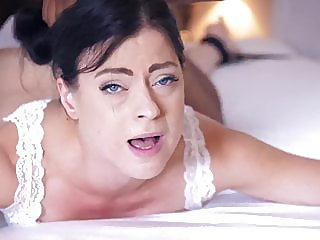 Ass fucked slave on bed