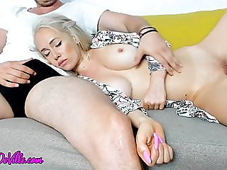 Hot mom sucks little stepson..
