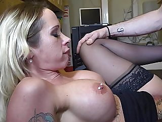 Dutch Secretary Milf fucked..