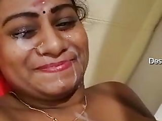 Tamil Wife Gets Cumshot from..