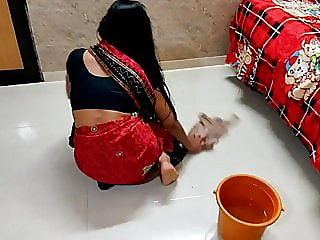 Indian maid has hard sex..