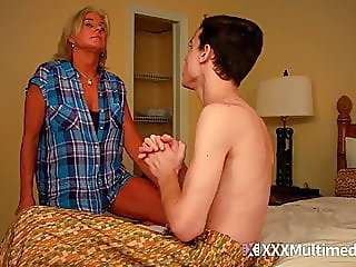 Stepmom fucks son and..