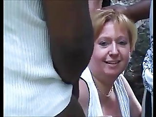 Hot BBW mature is lost in..