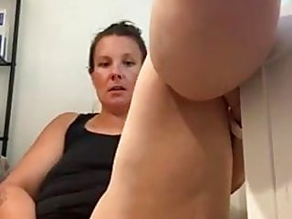 Milf using dildo