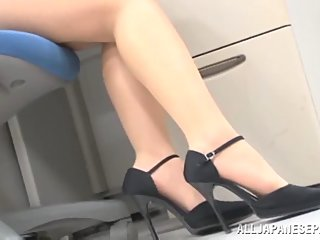 Very sexy office milf fucks..