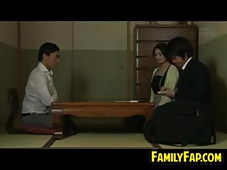 Naughty Asian Step Father