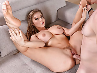 Lena Paul enjoys deep..