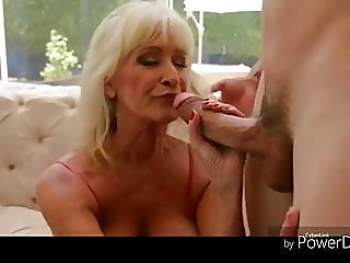 +60 Big titted blonde granny..