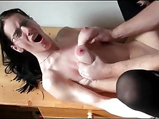 Submissive Busty Wife Hard..