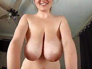 Mom with huge tits
