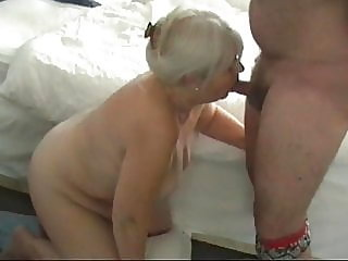68 year old granny sucking..