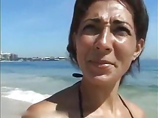 Brazilian MILF on Vacation