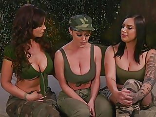 Army Anal Initiation by Two..