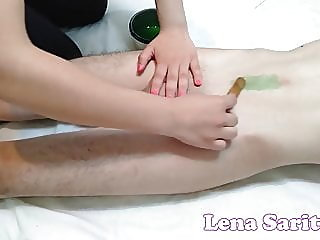 WAXING WITH A SURPRISE - WAX..