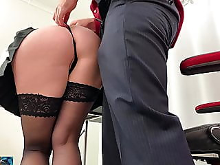 Secretary takes it in the..