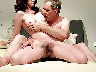 Hairy pussy, huge squirt..