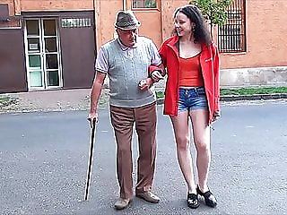 A happy day for grandpa with..
