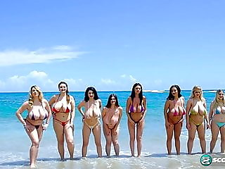 8 huge tittied babes..