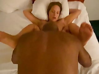 a huge dick fucks my wife