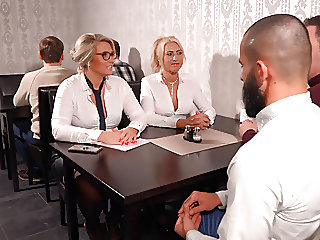 The milf office sluts fucked..
