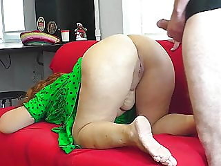 Mom In Thong Lets Stepson..